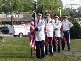 Stone Mountain Confederate Memorial Cemetery Sat., 29 April. Old Guard Color Guard, COL Richard Daniel, COL Robert Powers, MAJ Otis Farmer, and LTC Ross Glover.