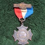 Photos of the actual 1911 Peace Monument medal in our archives I photographed in 2015. - Front