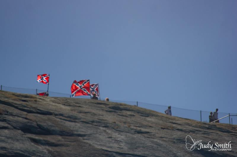 FLAGS ON THE MT